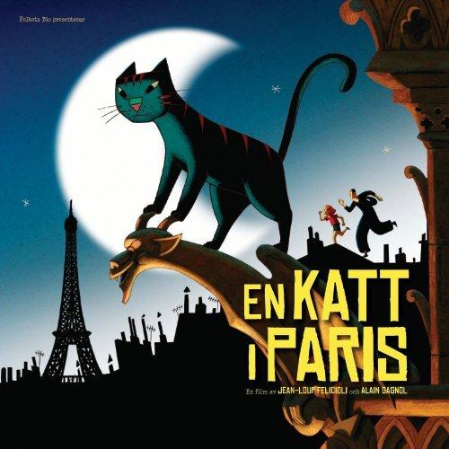 En katt i Paris pressmaterial - Folkets bio