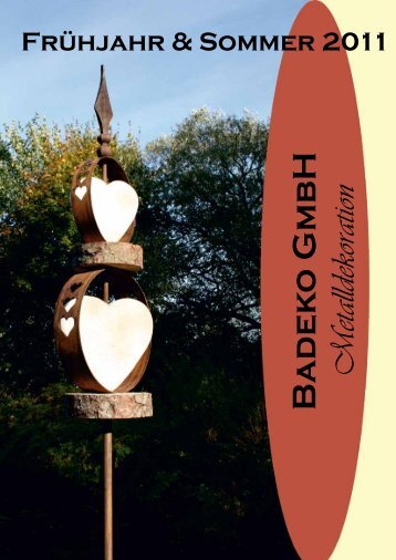 Badeko GmbH Metalldekoration - business in garden