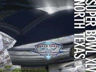 NORTH TEXAS SUPER BOWL XLV ... - City of Addison