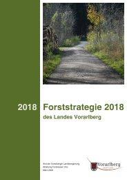 Forststrategie 2018