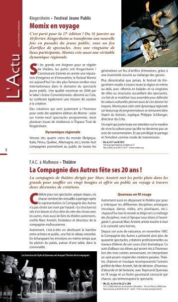 Momix en voyage - JDS.fr