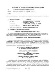 St.Martin Assmt protocol Petition to OAL - Defense for SVP