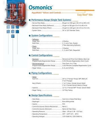 Autotrol 180/962/962TC-1228445B - SALAM Enterprises