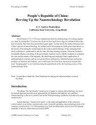 Revving Up the Nanotechnology Revolution - Asbbs.org