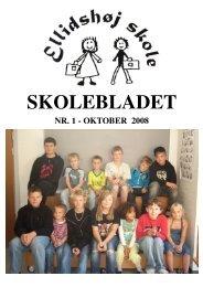 skoleblad oktober 2008 - Ellidshøj Skole