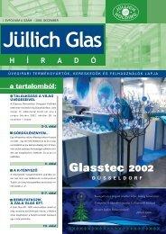 Glasstec 2002 - Jüllich Glas Holding Zrt.