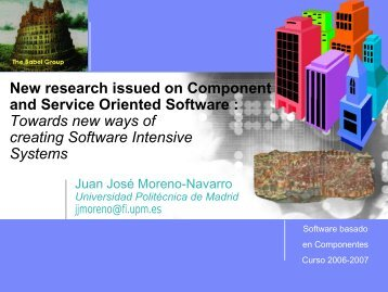 Software Urbanism, Juan José Moreno-Navarro - Babel Group ...