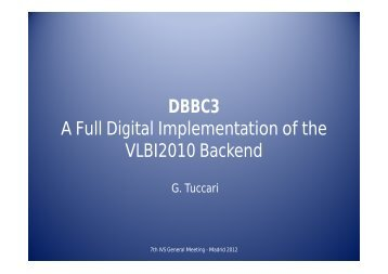 DBBC3 A Full Digital Implementation of the VLBI2010 Backend