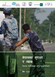 Security and justice in Nepal - Nepali - Saferworld