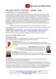 praxis-news jänner – april 2008