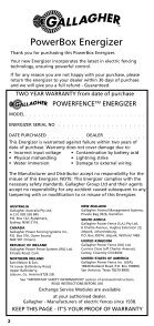 3C4417 Powerbox - Gallagher Europe - Page 2