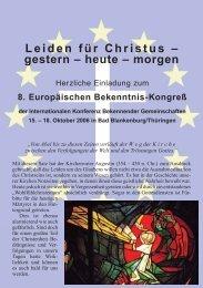 18. Oktober im Evangelischen - Institut Diakrisis