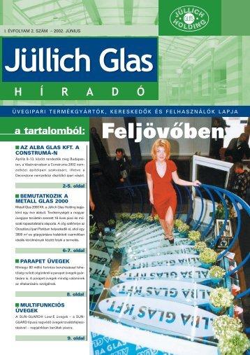 Feljövőben - Jüllich Glas Holding Zrt.