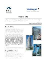 Caso exito FFV - Mekano