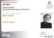 Download Jan Gehl presentation here
