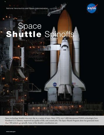 Shuttle Spinoffs Space - NASA Scientific and Technical Information