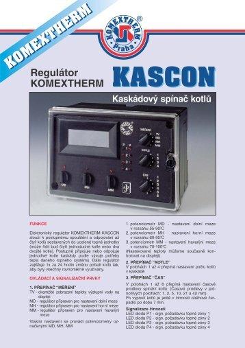 Regulátor KASCON - MarInfo