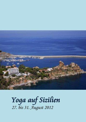 Yoga auf Sizilien - Hotel Kalura