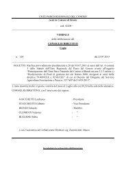 Leggi Delibera n. 124 - Il Parco del Conero