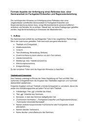 Anfertigung Seminararbeit - Technische Universität Darmstadt