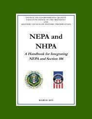 NEPA-106 26feb13.pub - Advisory Council on Historic Preservation