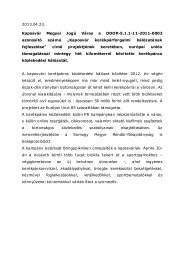 7 kilométerrel bővítült a kerékpáros közlekedési hálózat - Kaposvár