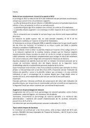 FISCAL Reducció per manteniment. Creació d'ocupació el 2012 Es ...