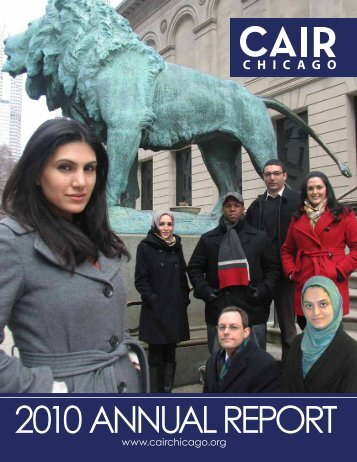 2010 AnnuAl RepoRt - CAIR-Chicago