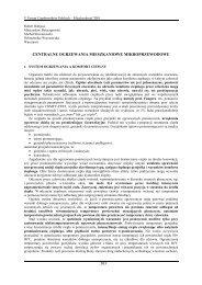 centralne ogrzewania mieszkaniowe mikroprzewodowe - Wydział ...