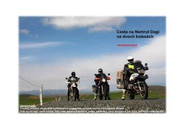 Cesta na Nemrut Dagi na dvoch kolesách - Motoride