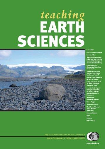 teaching - Earth Science Teachers' Association