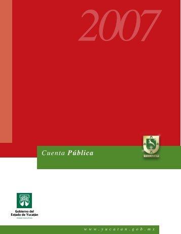 Cuenta Pública - Gobierno del Estado de Yucatán