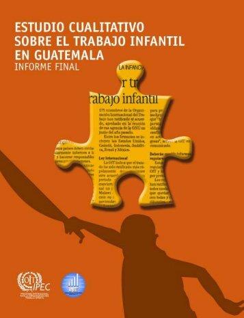 Estudi Cualitativo Sobre el TrabajoInfantil - DNI Costa Rica