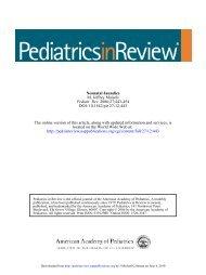 Neonatal Jaundice - Associates in Newborn Medicine