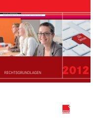 Rechtsgrundlagen 2012 - OFFICE SEMINARE