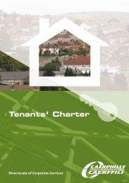 Tenants' Charter (PDF 247kb)