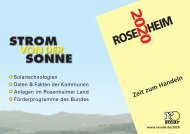 Zeit zum Handeln - Rosenheimer Solarförderverein e.V.