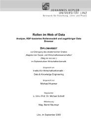 Rollen im Web of Data - Data & Knowledge Engineering