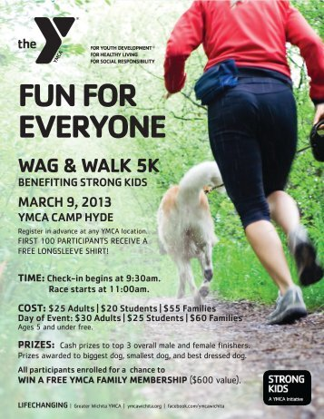 Download flyer and registration form - Greater Wichita YMCA