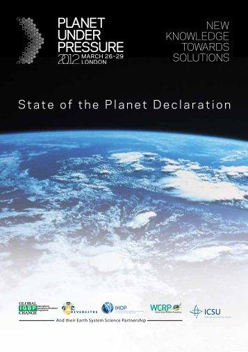 Download the pdf - IGBP