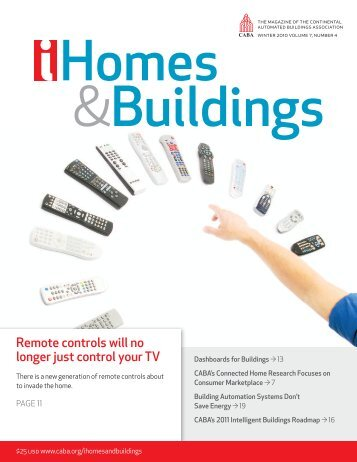 CABA iHomes & Buildings magazine - Continental Automated ...