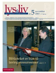 Biblioteket er blitt til læringsressurssenter side 8 - 9 - Det teologiske ...