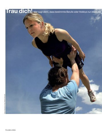 JUMA 4/04, Seiten 06-10, Trau dich! - Iundervisning