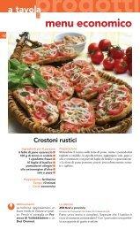 menu economico - Nuovoconsumo.it