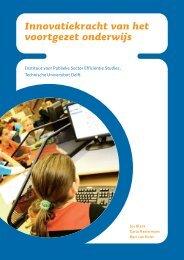 Innovatiekracht van het voortgezet onderwijs - VO-raad