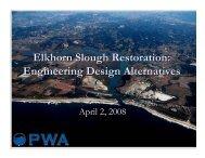 Engineering Design Alternatives - Elkhorn Slough Foundation