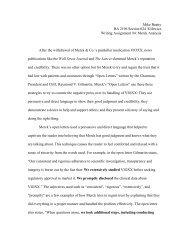 BA 2196 – Merck Analysis - Temple Fox MIS