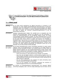 Richtlijn: archiveringsformaten