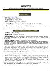 Prospectus - Efigest Asset Management
