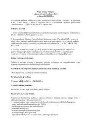 Konkurs 2012 r. z zakresu ochrony i promocji zdrowia